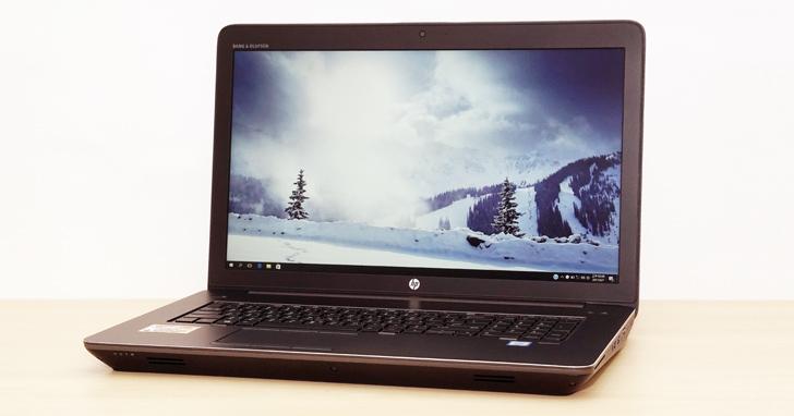 功能全面、高可靠性的第四代「行動工作站」重裝旗艦:HP ZBook 17 G4 開箱與深度評測!