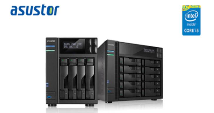 華芸科技新增強悍 Intel Core i5 四核心處理器NAS: AS7004T-i5 及 AS7010T-i5