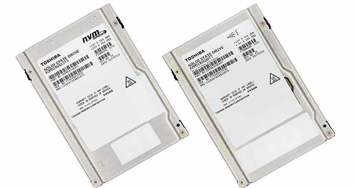 東芝推出全球首款  結合64-LAYER 堆疊技術及3D快閃記憶體企業級SSDs!