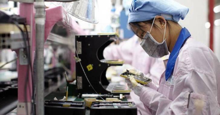 中國人工薪資上揚,突顯台灣代工廠於中國設廠的風險