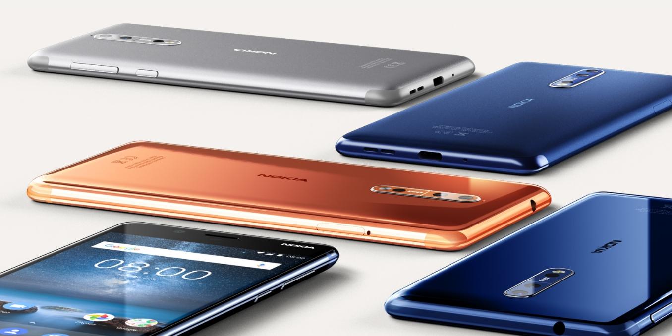 Nokia 發表和蔡司合作的高階旗艦新機 Nokia 8