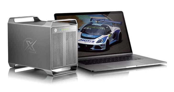 AKiTiO 雷霆戰艦 3X (Thunder3 Quad X) – 支援 mac 和 Windows 的 4 槽 Thunderbolt™3 存儲設備