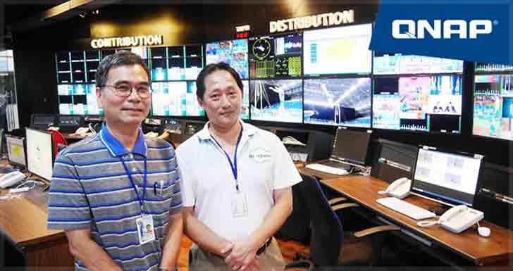 為世大運喝采!QNAP 與華視攜手打造高規格賽事轉播影像備份系統