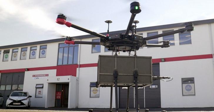 4分鐘就能送貨上門,無人機送外賣開始在冰島商用