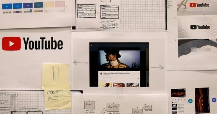 12年來Youtube LOGO 首度改版,手機版播放功能更好用、介面導入Material Design