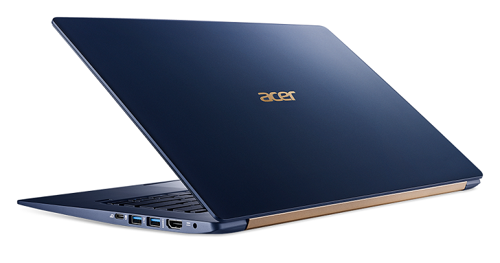 Acer 發表搭載 Intel 第八代處理器筆電,Switch 7、Swift 5、Spin 5 於 IFA 登場