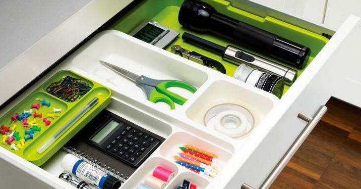電腦桌面清理乾淨了,辦公桌的抽屜卻亂糟糟?教你一些小竅門