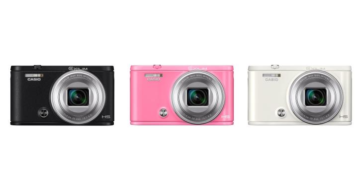 承襲19mm超廣角,Casio推出具備自拍神器美顏功能的EX-ZR5100