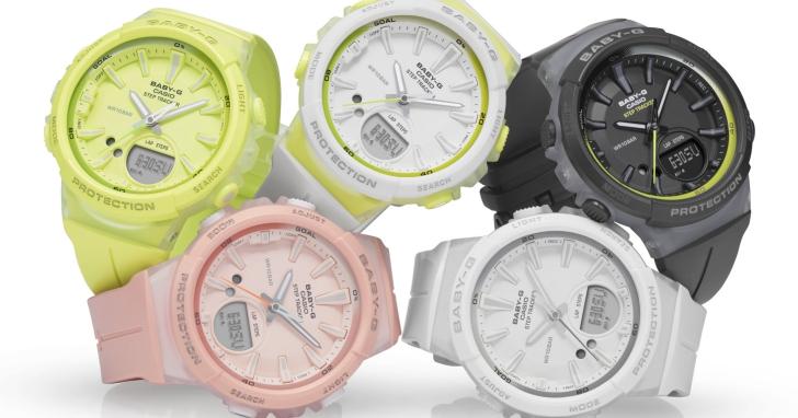 非智慧錶也有計步功能,Casio 推出計步錶款 BABY-G BGS-100 系列