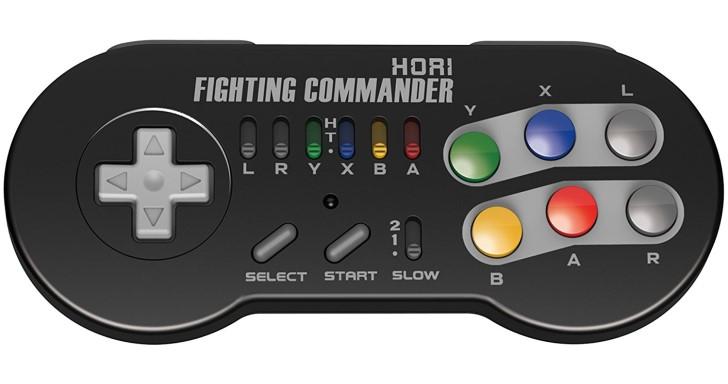 迷你超任未演先轟動,Hori發表專用格鬥手把
