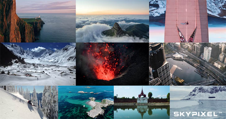 DJI與SkyPixel公佈2017年度全球最佳航拍影片