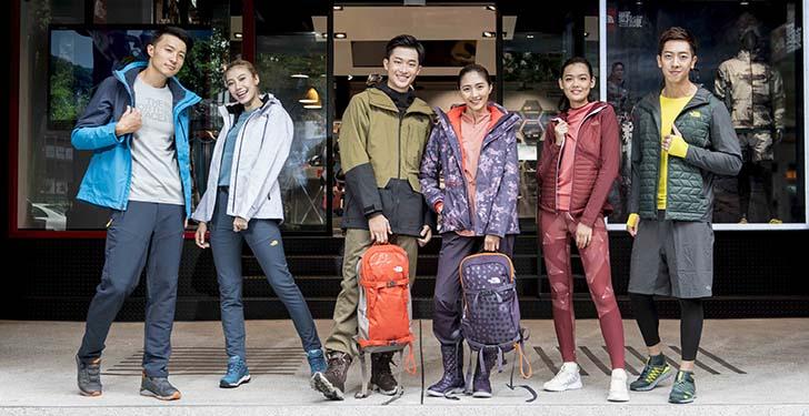 深入繁榮東區地段 全台第一間The North Face Taipei Store重磅開幕 正式吹響2017「秋冬開練」號角 城市野練升級裝備再起!