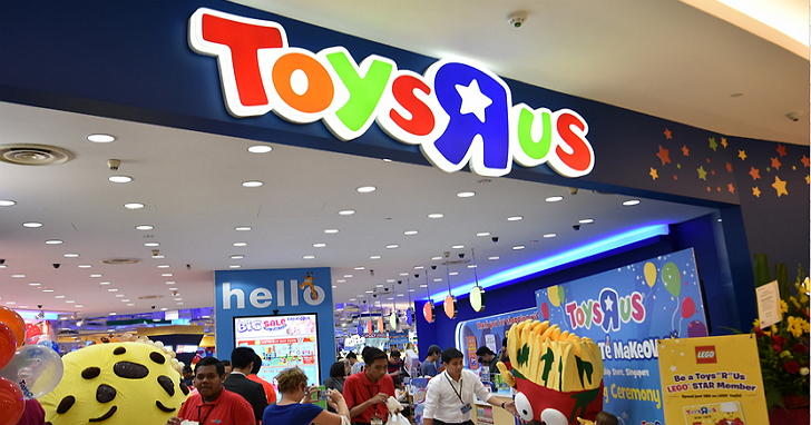不敵電商和數位遊戲,玩具反斗城可能將申請破產