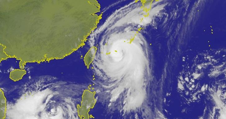 [更新:明天看來是要上班了..] 變強又變慢,「髮夾彎」泰利颱風來襲,颱風路徑和停班停課資訊懶人包
