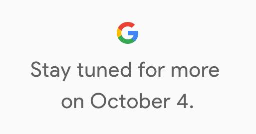 新一代 Google Pixel 要來了!10/4 將舉辦發表會