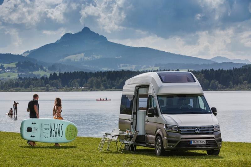 愛露營的朋友看過來!VW California XXL特大號加州將成為你的夢幻Motor home!