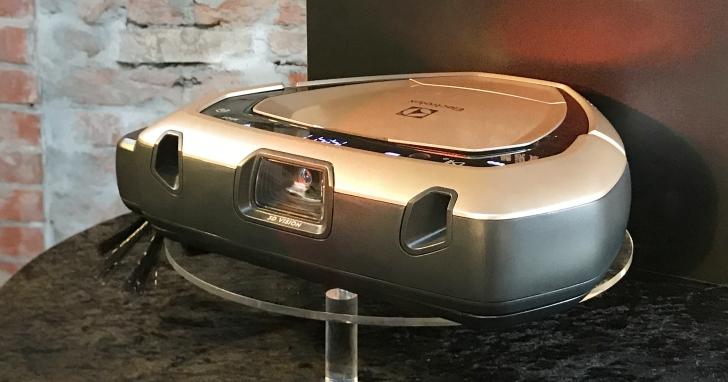 清掃不纏線也不亂撞,伊萊克斯推出具 3D 視能科技的 PUREi9 掃地機器人
