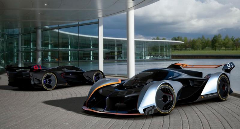 麥拉倫新世代超跑概念,McLaren Ultimate Vision Gran Turismo 現身 PS4 遊戲平台!
