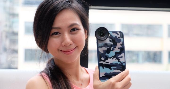 犀牛盾發表新材料手機殼,搭配四種擴充鏡頭延伸手機拍照效果