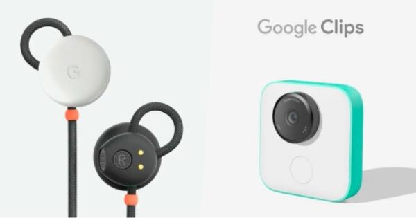 跟著 Pixel 2 一起現身的超智慧小耳機 Pixel Buds 以及 Google Clips 小相機