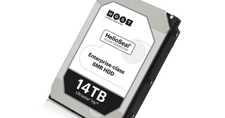 3.5 吋硬碟容量再創新高,HGST 發表 14TB 容量的 Ultrastar Hs14