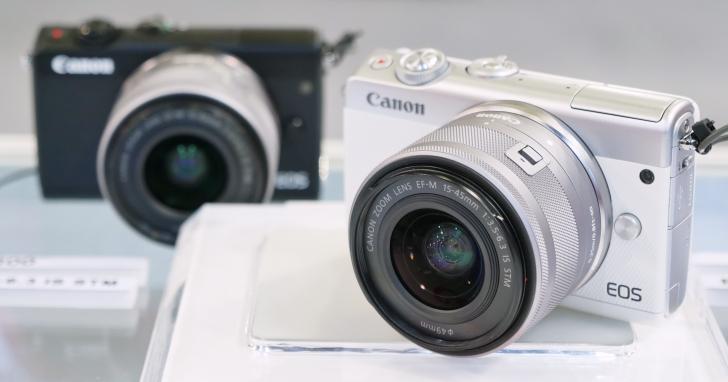 入門微單搭載 DAF 對焦登台上市,Canon EOS M100 現場動手玩