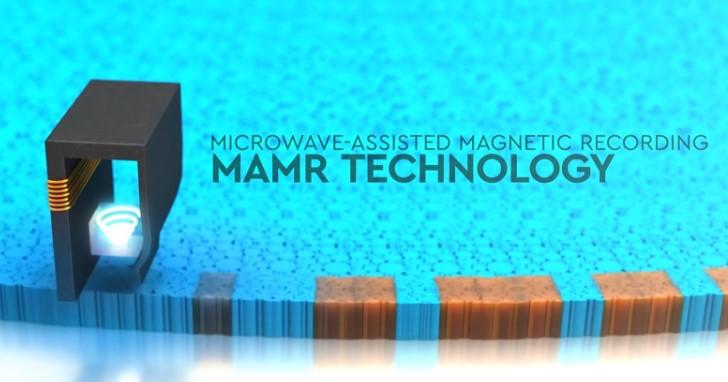 一顆硬碟容量40TB!WD 發表突破性 MAMR 微波輔助磁性錄寫技術,儲存密度每平方英寸 4Tb