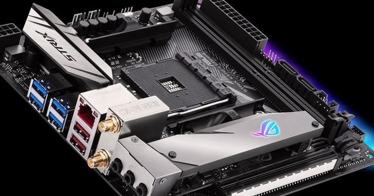 持續押寶 AMD AM4,Asus 推出 ROG Strix B350-I Gaming 與 ROG Strix X370-I Gaming 主機板