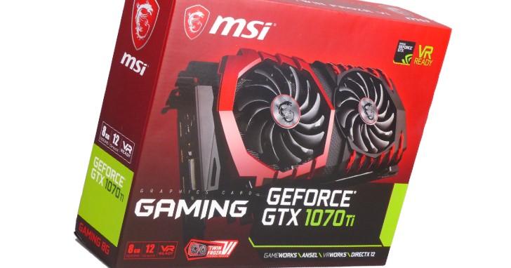 規格效能相互卡位,MSI 與 Asus GeForce GTX 1070 Ti 顯示卡動眼看