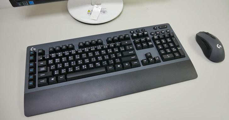 羅技 G613 和 G603:沒有酷炫外型、但功能應有盡有的無線遊戲鍵盤滑鼠組