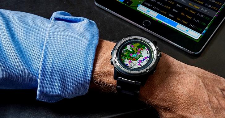 把全球機場飛航圖納入掌中,Garmin 推出內建世界全彩動態地圖的 D2 Charlie 鈦金航空錶