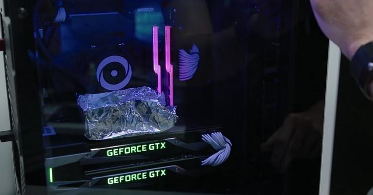 挑戰用兩張GTX 1080 Ti顯卡來煎蛋,他們能成功嗎?