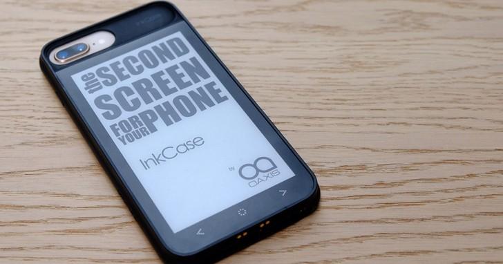 InkCase 保護殼體驗:給 iPhone 裝上電子紙背蓋會更好用嗎?