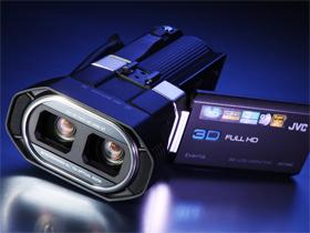JVC GS-TD1 :真 Full HD 3D 攝錄影機