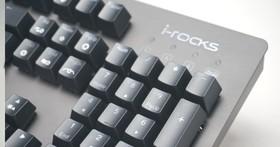 炫炮退散!i-Rocks K65MS 機械式電競鍵盤採極速銀軸走實用風