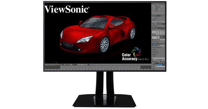 ViewSonic推出99% sRGB的32吋4K顯示器VP3268