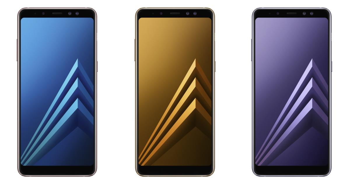 三星首款前置雙鏡頭手機發表,Galaxy A8/A8+(2018) 一月上市