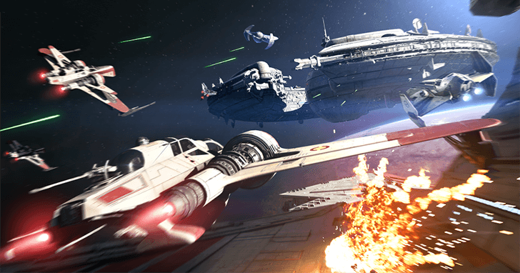 星際大戰電影大賣,星戰迷卻沒有什麼像樣的宇宙空戰遊戲可以玩