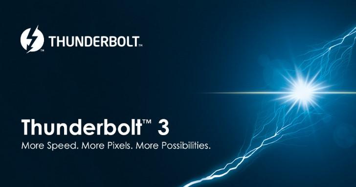 Intel 推出新款 Thunderbolt 3 晶片,增加 DisplayPort 1.4 支援能力