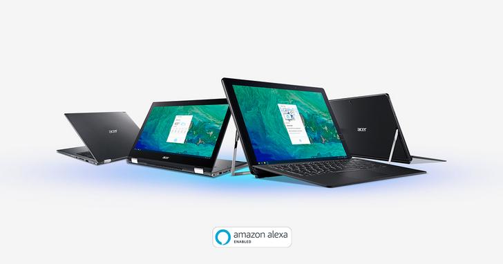 宏碁將導入Amazon Alexa語音助理於多款個人電腦產品