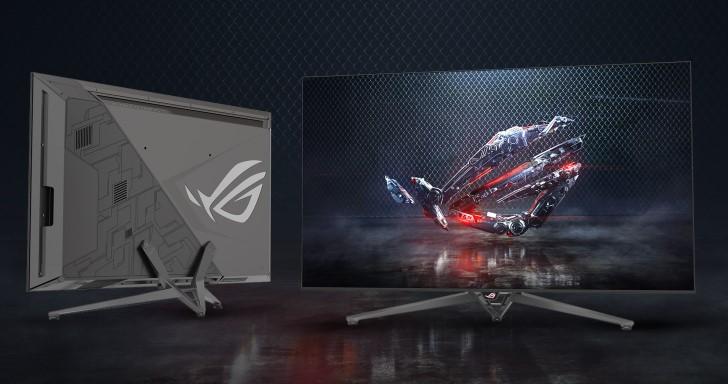 回應NVIDIA BFGD電競顯示器概念,Asus推出65吋4K HDR顯示器ROG Swift PG65