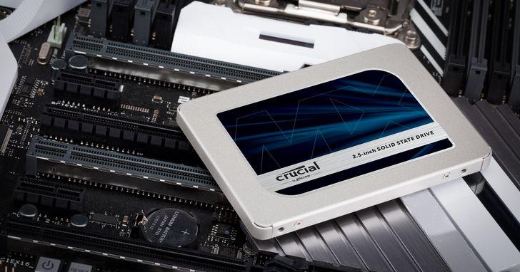 Crucial 正式推出 MX500 固態硬碟,採用自家 64 層 3D TLC 顆粒,最高容量達 2TB