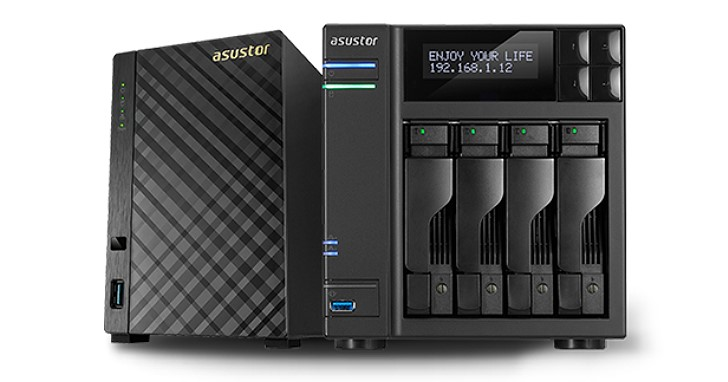 10Gbps 網路 NAS 有望飛入尋常百姓家,Asustor 預計推出 AS4002T 與 AS4004T