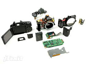 裸體數位相機, iFixit 大卸 Nikon D5100