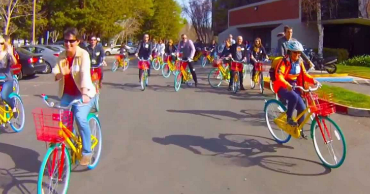 Google有GBike,蘋果也有Apple Gray單車,從單車也可以看出科技公司的文化差異