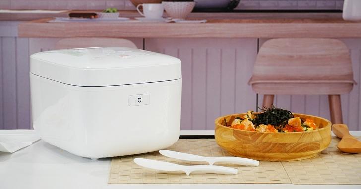 小米正式在台發佈「米家 IH 電子鍋」:3mm 厚釜內膽大金 PFA 不沾鍋塗層、售價 2,495 元
