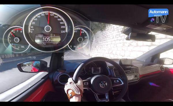 最小、最年輕的「GTI」見過沒? VW Up! GTI「0-100km/h」加速影片曝光,小巧卻很帶勁!