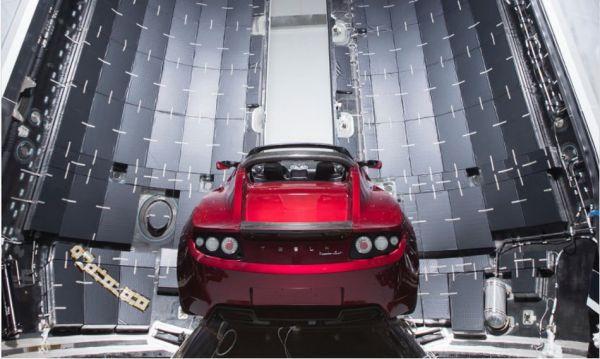 真的飛上青天了!Tesla Roadster的火星之旅正式啟航!