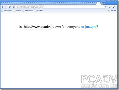 讓你查詢特定網站是不是真的掛了