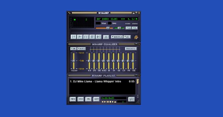 懷念曾用 Winamp 聽音樂的日子嗎?現在你可以到這個網頁重溫當年的時光